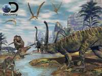 3D Puzzle Discovery Dinosaur marsh 500 Teile