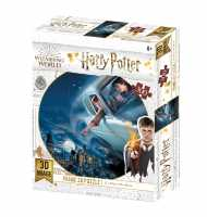 "3D Puzzle ""Harry Potter"" Ford Anglia over Hogwarts 300 Teile"