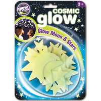 Mond & Sterne Glow in the Dark